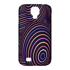 Abstract Colorful Spheres Samsung Galaxy S4 Classic Hardshell Case (PC+Silicone)