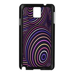 Abstract Colorful Spheres Samsung Galaxy Note 3 N9005 Case (black)