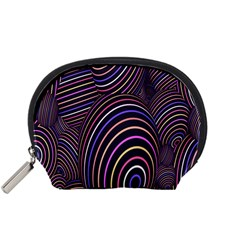 Abstract Colorful Spheres Accessory Pouches (Small)