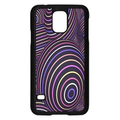 Abstract Colorful Spheres Samsung Galaxy S5 Case (black)