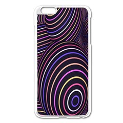 Abstract Colorful Spheres Apple iPhone 6 Plus/6S Plus Enamel White Case