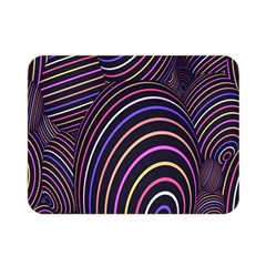 Abstract Colorful Spheres Double Sided Flano Blanket (mini)