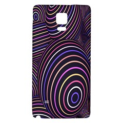 Abstract Colorful Spheres Galaxy Note 4 Back Case