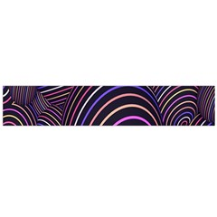 Abstract Colorful Spheres Flano Scarf (Large)