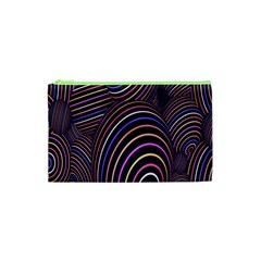 Abstract Colorful Spheres Cosmetic Bag (XS)