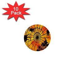 Halloween Weird  Surreal Atmosphere 1  Mini Buttons (10 pack)