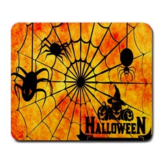 Halloween Weird  Surreal Atmosphere Large Mousepads