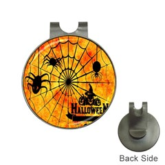 Halloween Weird  Surreal Atmosphere Hat Clips with Golf Markers