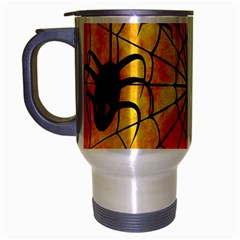 Halloween Weird  Surreal Atmosphere Travel Mug (Silver Gray)