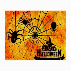 Halloween Weird  Surreal Atmosphere Small Glasses Cloth