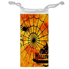 Halloween Weird  Surreal Atmosphere Jewelry Bag