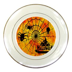 Halloween Weird  Surreal Atmosphere Porcelain Plates