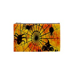 Halloween Weird  Surreal Atmosphere Cosmetic Bag (Small)