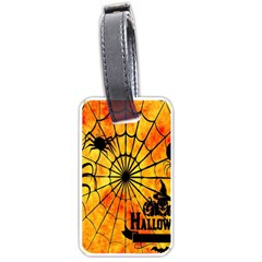 Halloween Weird  Surreal Atmosphere Luggage Tags (two Sides)