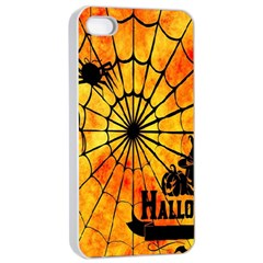 Halloween Weird  Surreal Atmosphere Apple iPhone 4/4s Seamless Case (White)