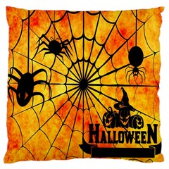 Halloween Weird  Surreal Atmosphere Large Cushion Case (One Side)