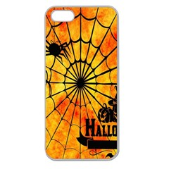 Halloween Weird  Surreal Atmosphere Apple Seamless iPhone 5 Case (Clear)
