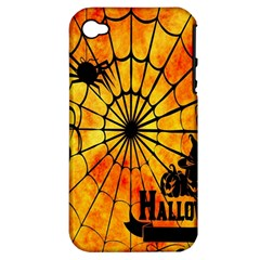 Halloween Weird  Surreal Atmosphere Apple Iphone 4/4s Hardshell Case (pc+silicone)