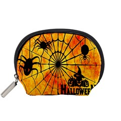 Halloween Weird  Surreal Atmosphere Accessory Pouches (Small)