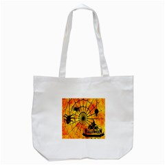 Halloween Weird  Surreal Atmosphere Tote Bag (White)