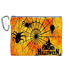 Halloween Weird  Surreal Atmosphere Canvas Cosmetic Bag (XL)