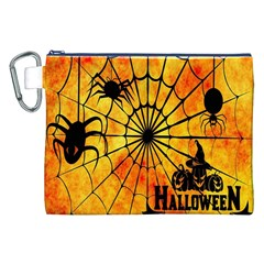 Halloween Weird  Surreal Atmosphere Canvas Cosmetic Bag (XXL)