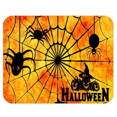 Halloween Weird  Surreal Atmosphere Double Sided Flano Blanket (medium)