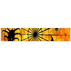 Halloween Weird  Surreal Atmosphere Flano Scarf (Large)