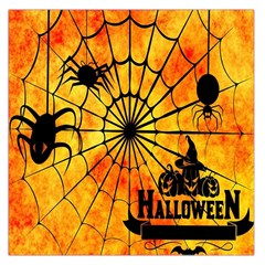 Halloween Weird  Surreal Atmosphere Large Satin Scarf (Square)