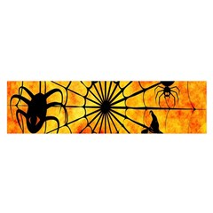 Halloween Weird  Surreal Atmosphere Satin Scarf (Oblong)