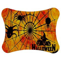 Halloween Weird  Surreal Atmosphere Jigsaw Puzzle Photo Stand (bow)