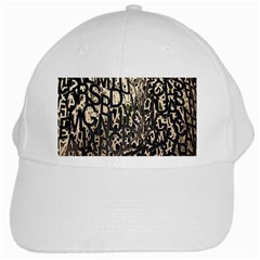 Wallpaper Texture Pattern Design Ornate Abstract White Cap
