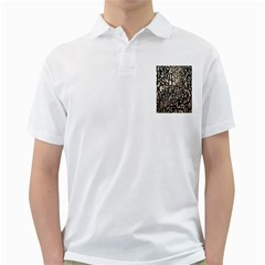 Wallpaper Texture Pattern Design Ornate Abstract Golf Shirts