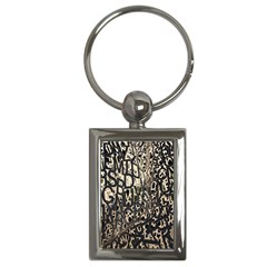 Wallpaper Texture Pattern Design Ornate Abstract Key Chains (rectangle)