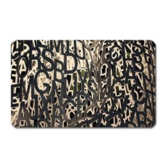 Wallpaper Texture Pattern Design Ornate Abstract Magnet (rectangular)
