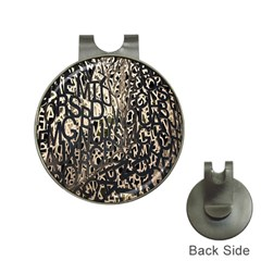 Wallpaper Texture Pattern Design Ornate Abstract Hat Clips With Golf Markers