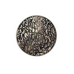 Wallpaper Texture Pattern Design Ornate Abstract Hat Clip Ball Marker (4 Pack)