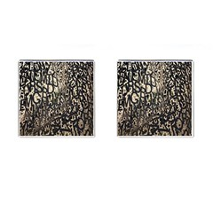 Wallpaper Texture Pattern Design Ornate Abstract Cufflinks (Square)