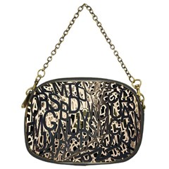 Wallpaper Texture Pattern Design Ornate Abstract Chain Purses (One Side)