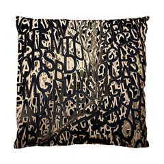 Wallpaper Texture Pattern Design Ornate Abstract Standard Cushion Case (One Side)