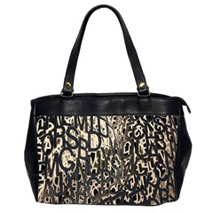 Wallpaper Texture Pattern Design Ornate Abstract Office Handbags (2 Sides)