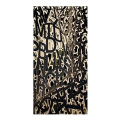 Wallpaper Texture Pattern Design Ornate Abstract Shower Curtain 36  X 72  (stall)