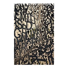 Wallpaper Texture Pattern Design Ornate Abstract Shower Curtain 48  x 72  (Small)