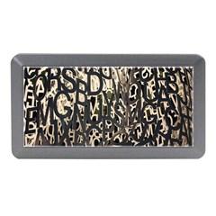 Wallpaper Texture Pattern Design Ornate Abstract Memory Card Reader (Mini)
