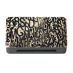 Wallpaper Texture Pattern Design Ornate Abstract Memory Card Reader with CF