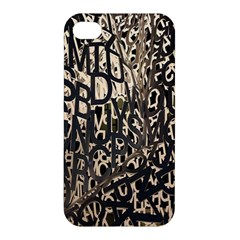 Wallpaper Texture Pattern Design Ornate Abstract Apple iPhone 4/4S Premium Hardshell Case
