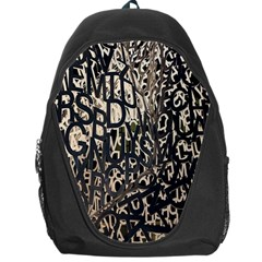 Wallpaper Texture Pattern Design Ornate Abstract Backpack Bag