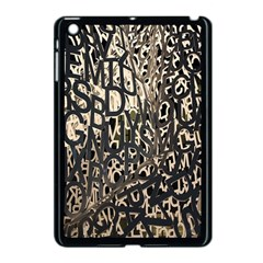 Wallpaper Texture Pattern Design Ornate Abstract Apple Ipad Mini Case (black)