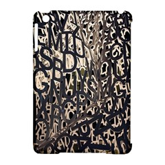 Wallpaper Texture Pattern Design Ornate Abstract Apple Ipad Mini Hardshell Case (compatible With Smart Cover)