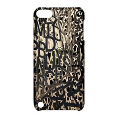 Wallpaper Texture Pattern Design Ornate Abstract Apple iPod Touch 5 Hardshell Case with Stand